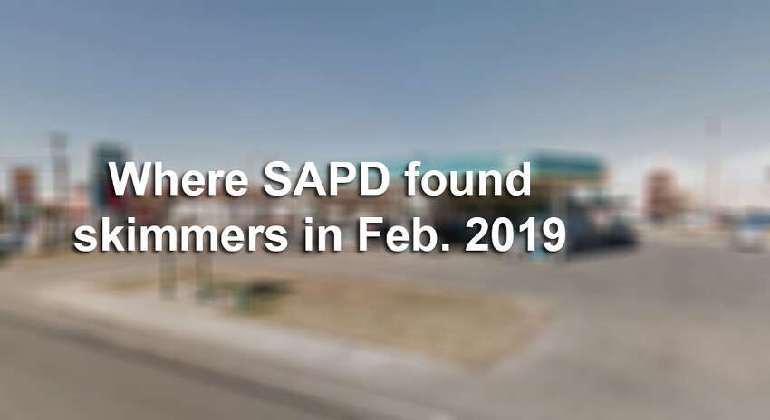 See where SAPD found more than 10 skimmers in San Antonio in February 2019.