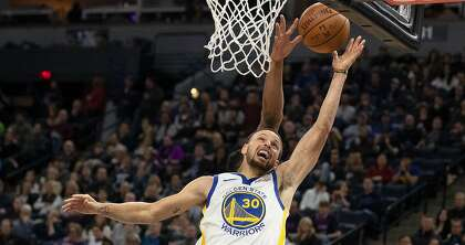 67331f06cc9a The Golden State Warriors  Stephen Curry (30) scored against the Minnesota  Timberwolves  Josh Okogie at Target Center in Minneapolis on Tuesday