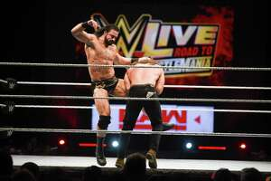 WWE Live Road to Wrestlemania makes a stop at the Sames Auto Arena on Saturday, Feb. 16, 2019. WWE signed a lease for new headquarters in downtown Stamford at 677 Washington Blvd.