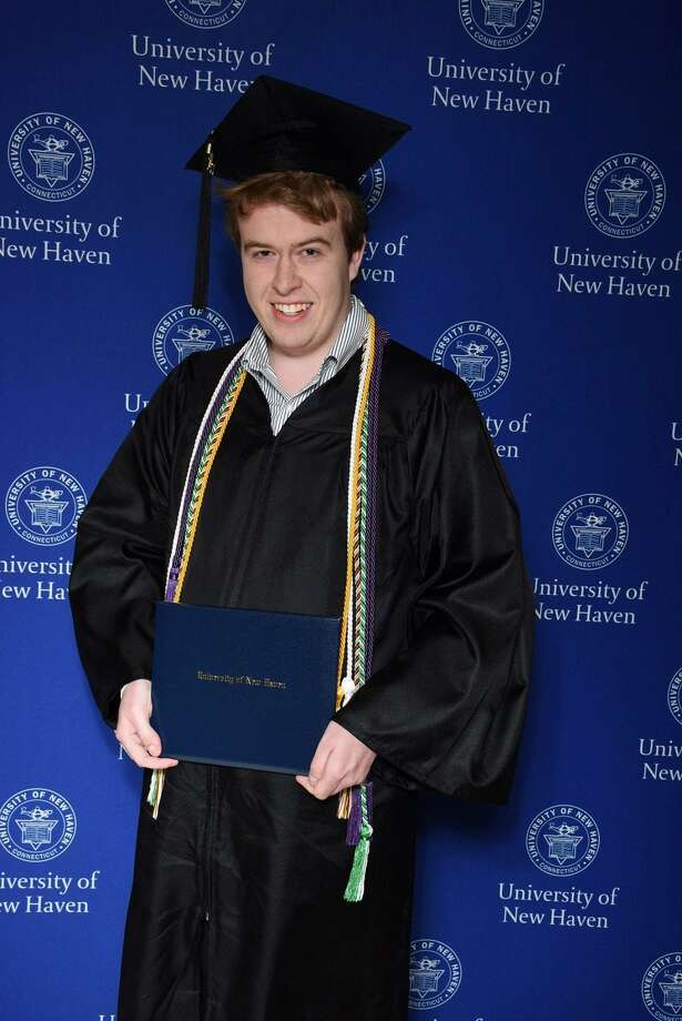 Zachary Lange in his college graduation photo. Photo: Contributed / Zachary Lange