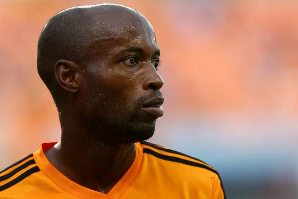Houston Dynamo midfielder DaMarcus Beasley (7) before the MLS game against the Los Angeles FC at BBVA Compass Stadium Tuesday, July 3, 2018, in Houston. ( Godofredo A. Vasquez / Houston Chronicle )