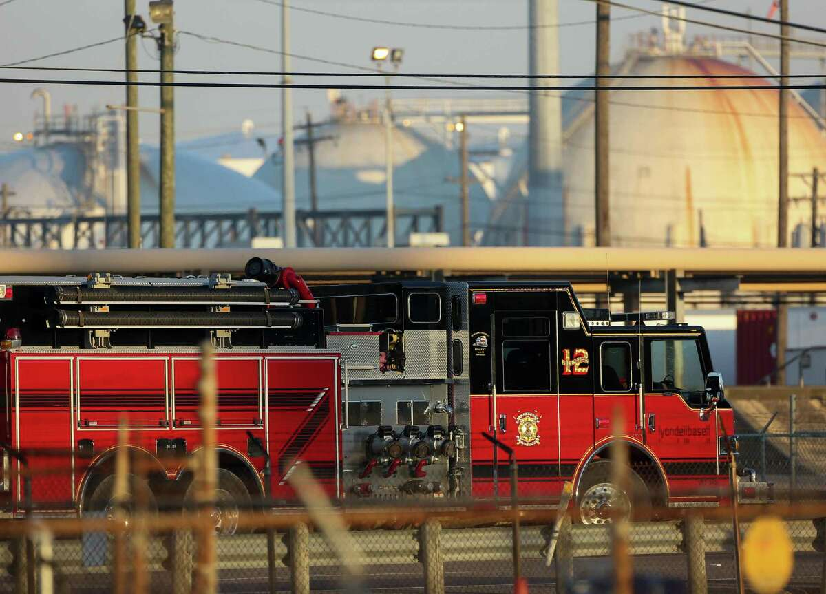 First responders extinguished the petrochemical fire at Intercontinental Terminals Company at roughly 3 a.m. Wednesday, March 20, 2019, in Deer Park, Texas.