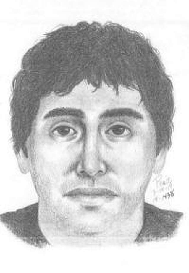 A sketch of the suspect who allegedly entered a Palo Alto woman's bedroom and sat on her bed. Photo: Palo Alto Police Department
