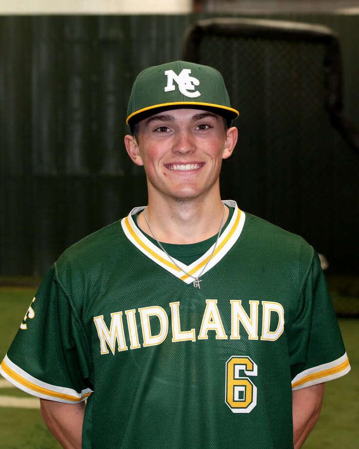 Midland College baseball player Deylan Pigford Photo: Midland College Athletics