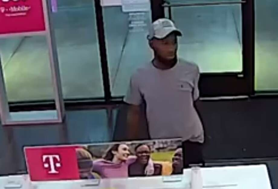 Investigators with Harris County Precinct 5 Constable Ted Heap's Office is asking the public for help in identifying a pair of thieves. The men are accused of stealing from a T-Mobile store about 7:20 p.m. Wednesday, March 13, in the 9200 block of Fry Road in west Harris County. Photo: Harris County Precinct 5 Constable's Office