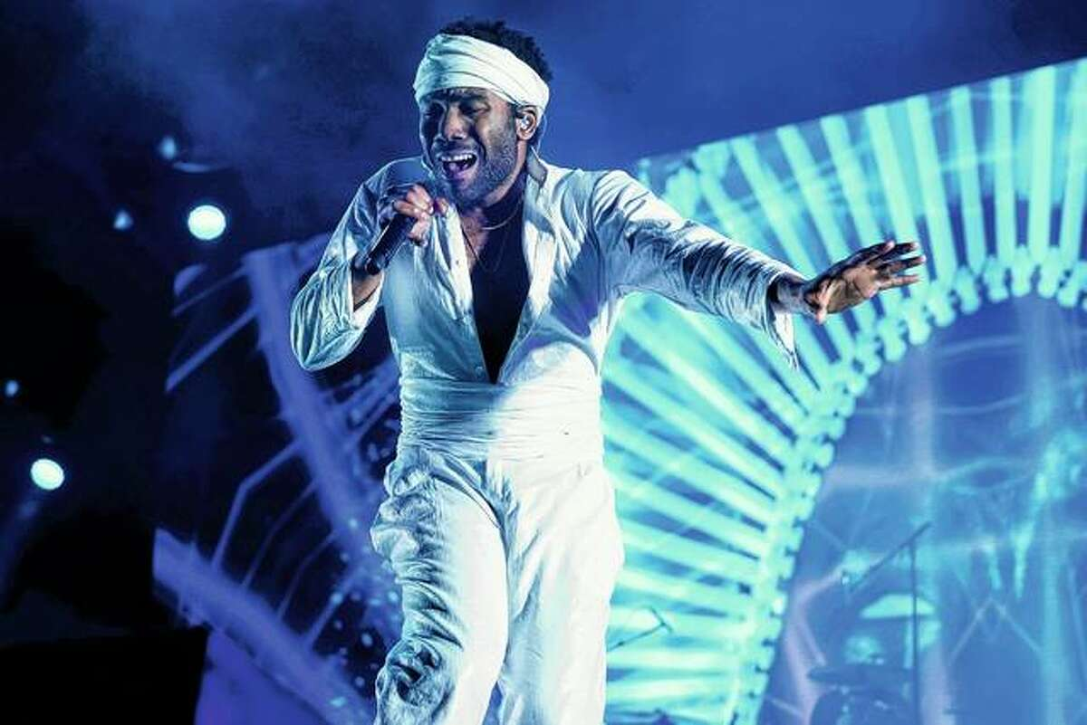 Donald Glover, who goes by the stage name Childish Gambino, performs in June 2017 at the Governors Ball Music Festival in New York. Childish Gambino will join Ariana Grande, Twenty One Pilots and The Strokes at this summer's Lollapalooza music festival in Chicago. Kacey Musgraves, Janelle Monae and Lil Wayne also are scheduled to be at the four-day event Aug. 1-4.