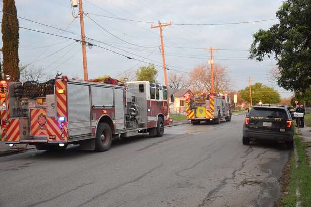 Officials say a man is dead after a house fire on the West Side near St. Mary's University.