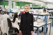 """Elizabeth Holmes, who founded Silicon Valley-based Theranos, is the subject of Alex Gibney's latest documentary """"The Inventor."""""""