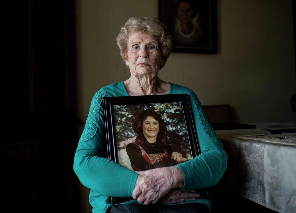 Jo Ann Nicholas, whose daughter Rhogena Nicholas, was killed in a botched drug raid, poses for a portrait at her home Wednesday, March 20, 2019, in Natchitoches.