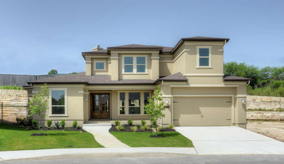 Builder: McNair Custom Homes Community Name: Hidden Canyon Address: 21275 Rugged Hills, SA TX 78258 price $587,500 Photo: McNair Custom Homes