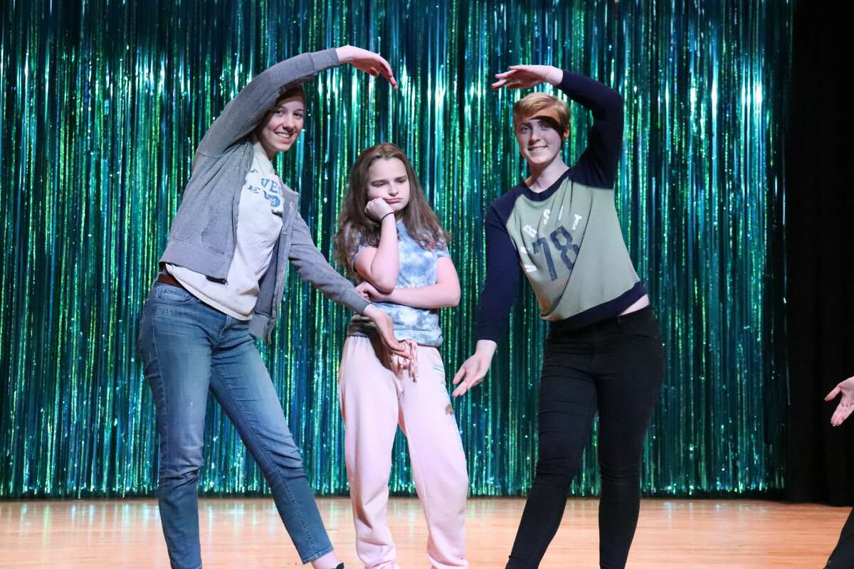 """Rehearsals for the Northville Central School production of """"The Little Mermaid."""""""
