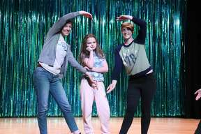 "Rehearsals for the Northville Central School production of ""The Little Mermaid."""