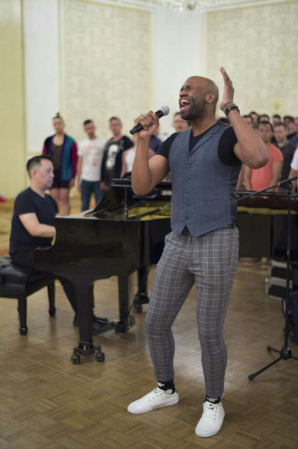 The NYCGMC'sBig Gay Sing: Body & Soulpreviewed at the Omni Hotel in New Haven Sunday. Photo: Contributed / © Michael R. Dekker