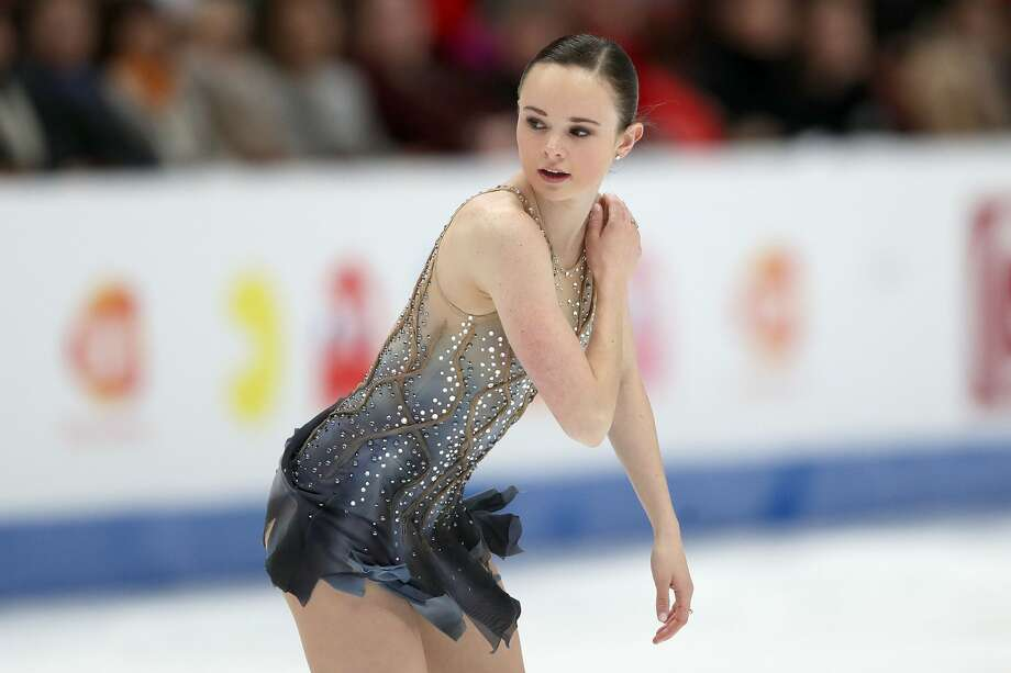An American figure skater is accused of deliberately cutting a South Korean competitor