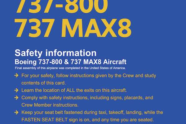 Boeing 737 MAX 8 & 737-800: Not the same plane - HoustonChronicle com