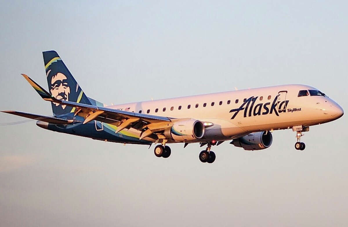 #2: Alaska Airlines was SFO's second largest carrier in 2019, but even with that title, it only controls 12 percent of the airport's seats, about 8 million last year. That's down from the 9 million seats the airline flew in 2018.
