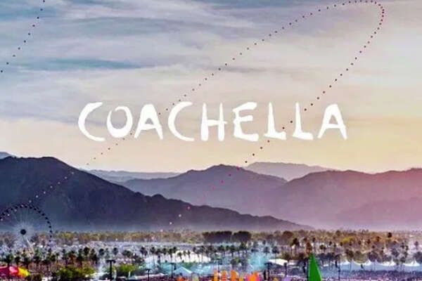 The Coachella festival this year is over the second and third weekends in April.