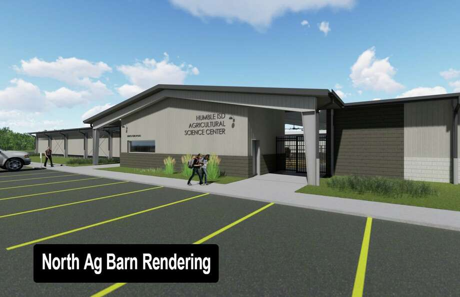 The North Ag Barn will be located on Ford Road and will be completed by 2020. Photo: Courtesy: Humble ISD