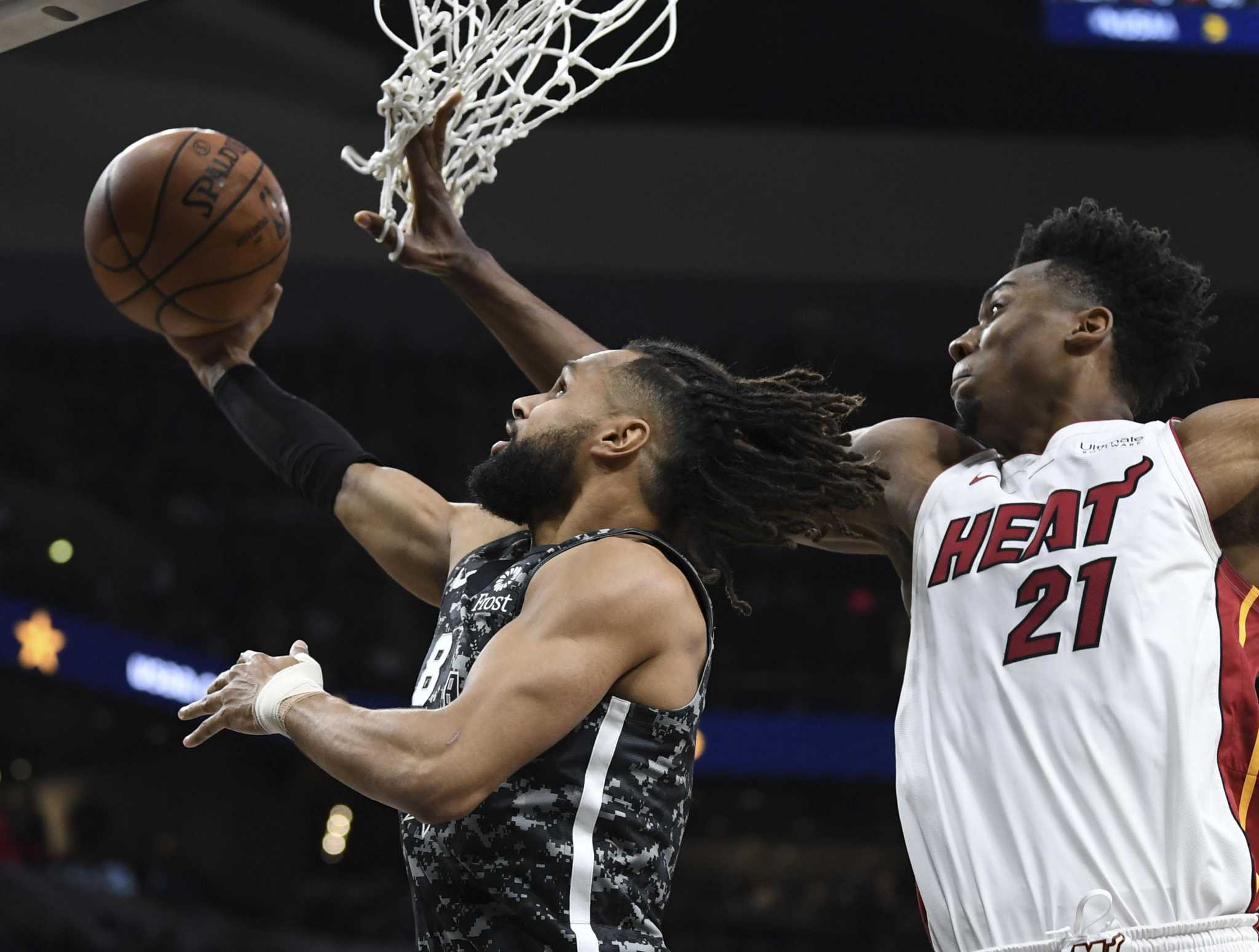 Spurs notebook: Patty Mills joins exclusive club