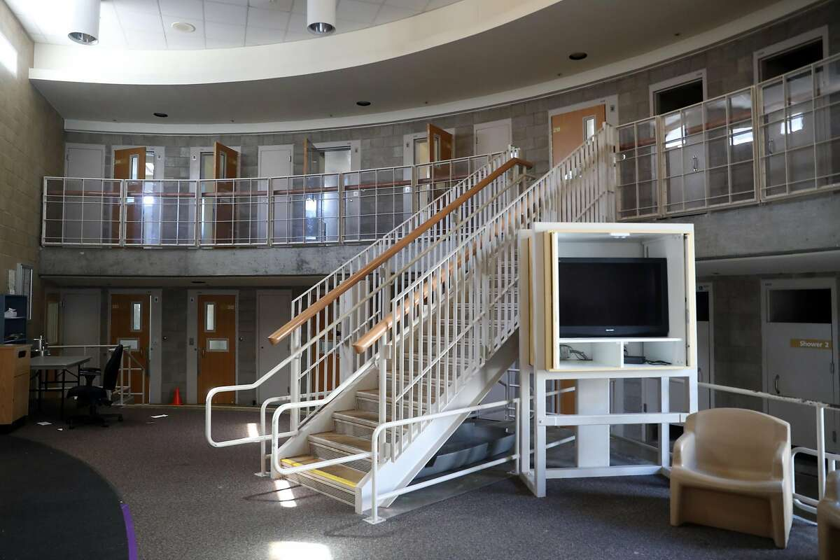 An empty housing unit at Juvenile Hall in San Francisco, Calif. on Thursday, September 20, 2018.