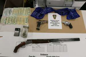 Items allegedly seized in connection with the arrest of Tyler Singewald.