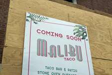 "Malibu Taco is expected to have a ""late spring"" opening this year."