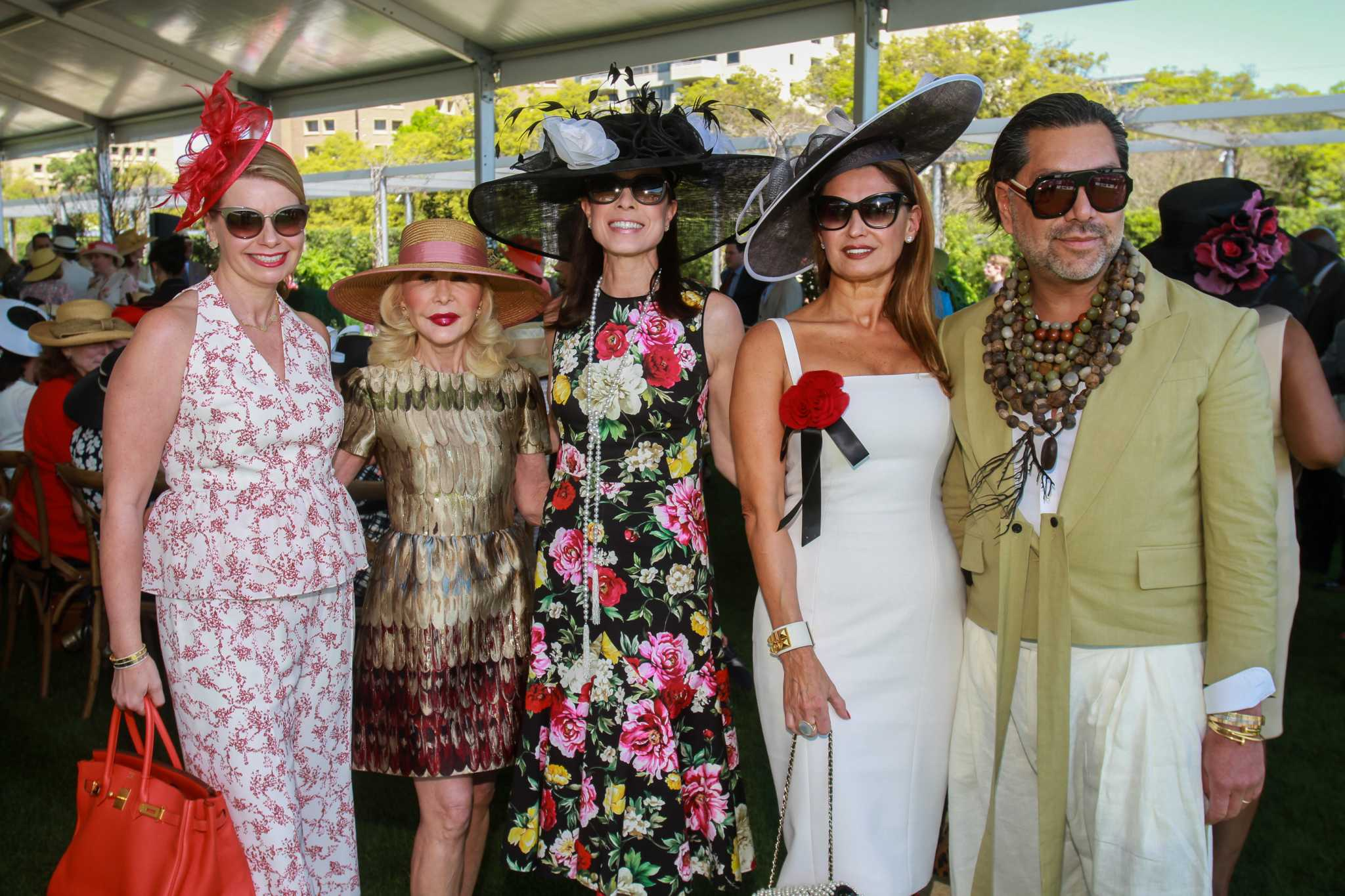 "Ladies who luncheon host ""tea with best friends,"" raise $400,000 for Hermann Park Conservancy"