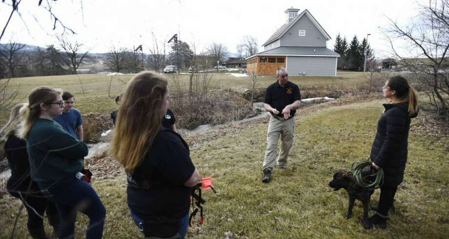 The State University of New York College of Agriculture and Technology at Cobleskill says it will be the first college to offer a bachelor's degree in dog training and handling. Photo: SUNY Cobleskill