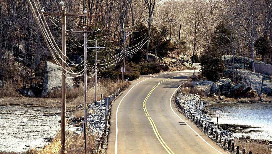 Guilford, Connecticut - Saturday, March 16, 2019: The Town of Guilford is planning on building a multi-span bridge near/over the crabbing hole on Rte. 146- water on both sides. The proposed bridge would span roadway. Photo: Peter Hvizdak / Hearst Connecticut Media / New Haven Register