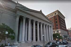 U.S. District Courthouse in New Haven.