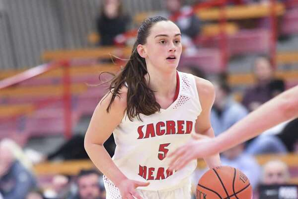 Sacred Heart guard Erin Storck is averaging 10.6 points for the Pioneers.