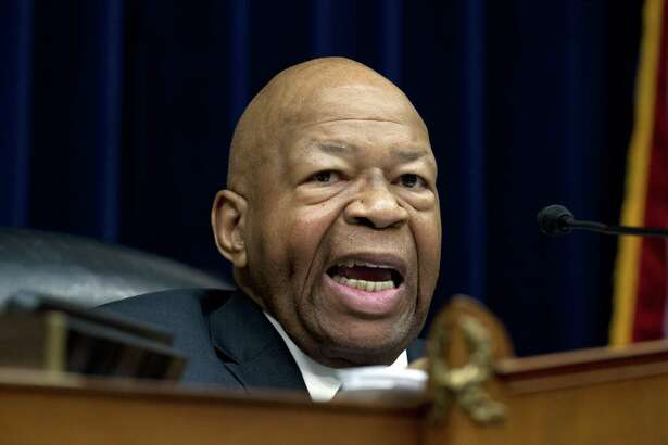House Oversight and Reform Committee Chair Elijah Cummings, D-Md., speaks during the House Oversight Committee hearing on Capitol Hill in Washington, Thursday, March 14, 2019. Cummings sent a letter to Purdue Pharma CEO and President Craig Landau, focusing on the company's opioid marketing practices.