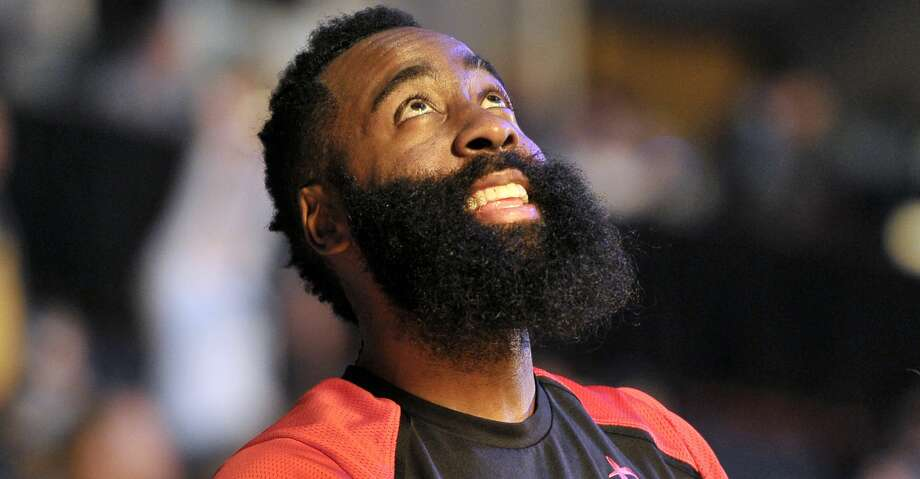 PHOTOS: Rockets game-by-game Houston Rockets guard James Harden stands on the court before an NBA basketball game against the Memphis Grizzlies Wednesday, March 20, 2019, in Memphis, Tenn. (AP Photo/Brandon Dill) Browse through the photos to see how the Rockets have fared in each game this season. Photo: Brandon Dill/Associated Press