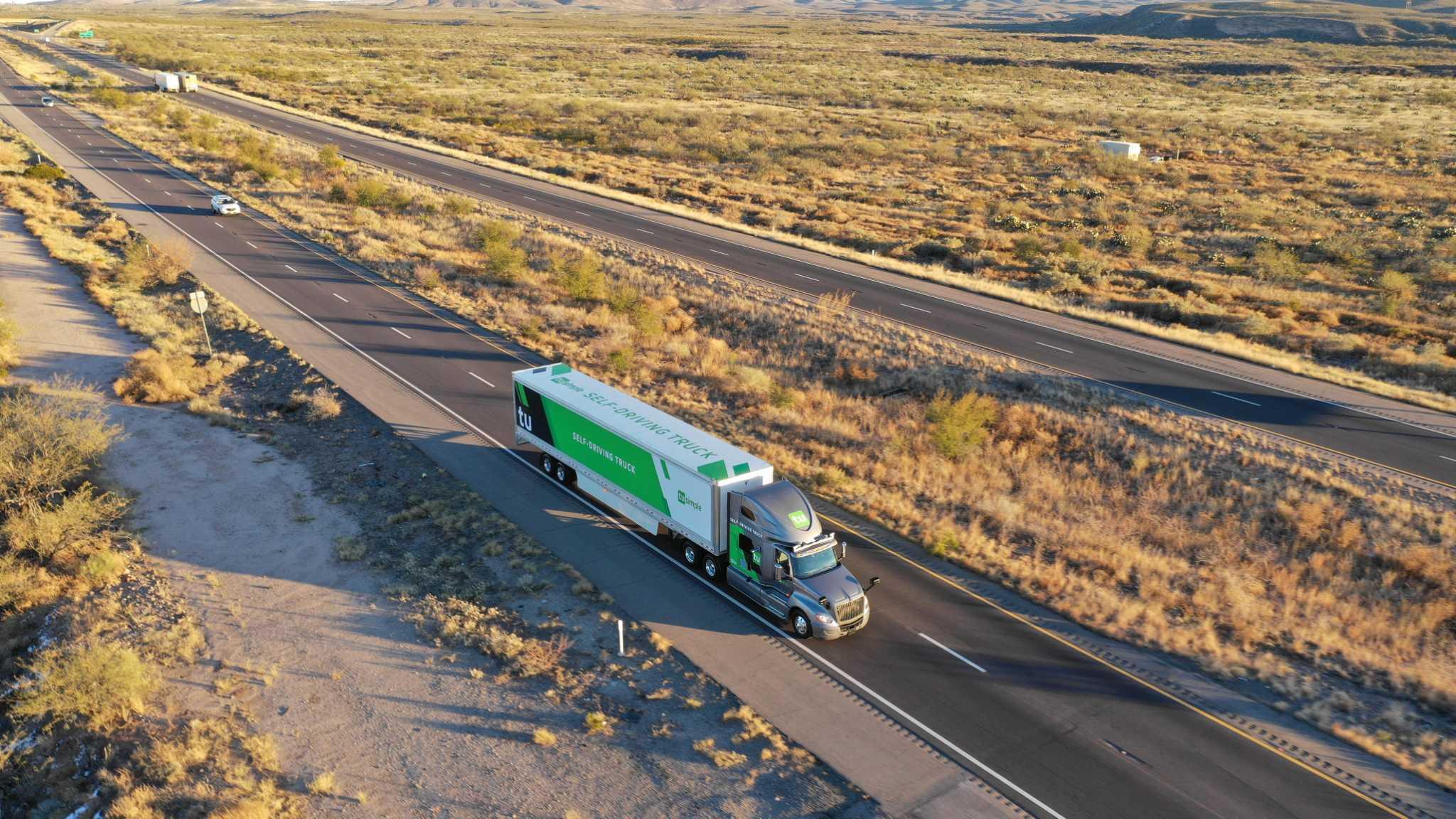 Autonomous semi-trucks coming to I-10 soon