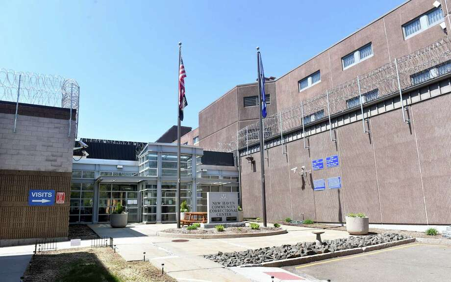 The entrance to the New Haven Community Correctional Center photographed on 4/28/2017. Photo by Arnold Gold/New Haven Register