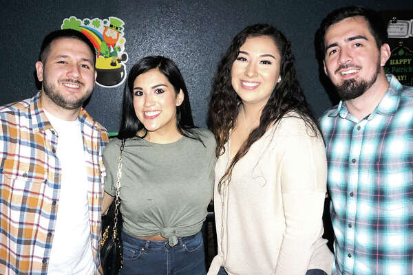 Gabriel Sanchez, Nicole Maldonado, Domenique Madrigal and Andres Avina at Average Joe's