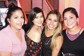 Christina Cuevas, Xiomara Renteria, Angie Garcia and Griselda Ramos at Siete Banderas