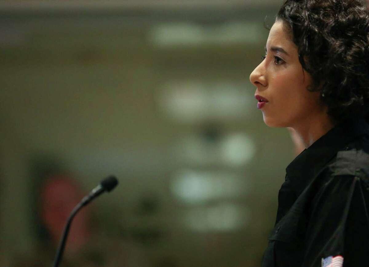 Harris County Judge Lina Hidalgo.