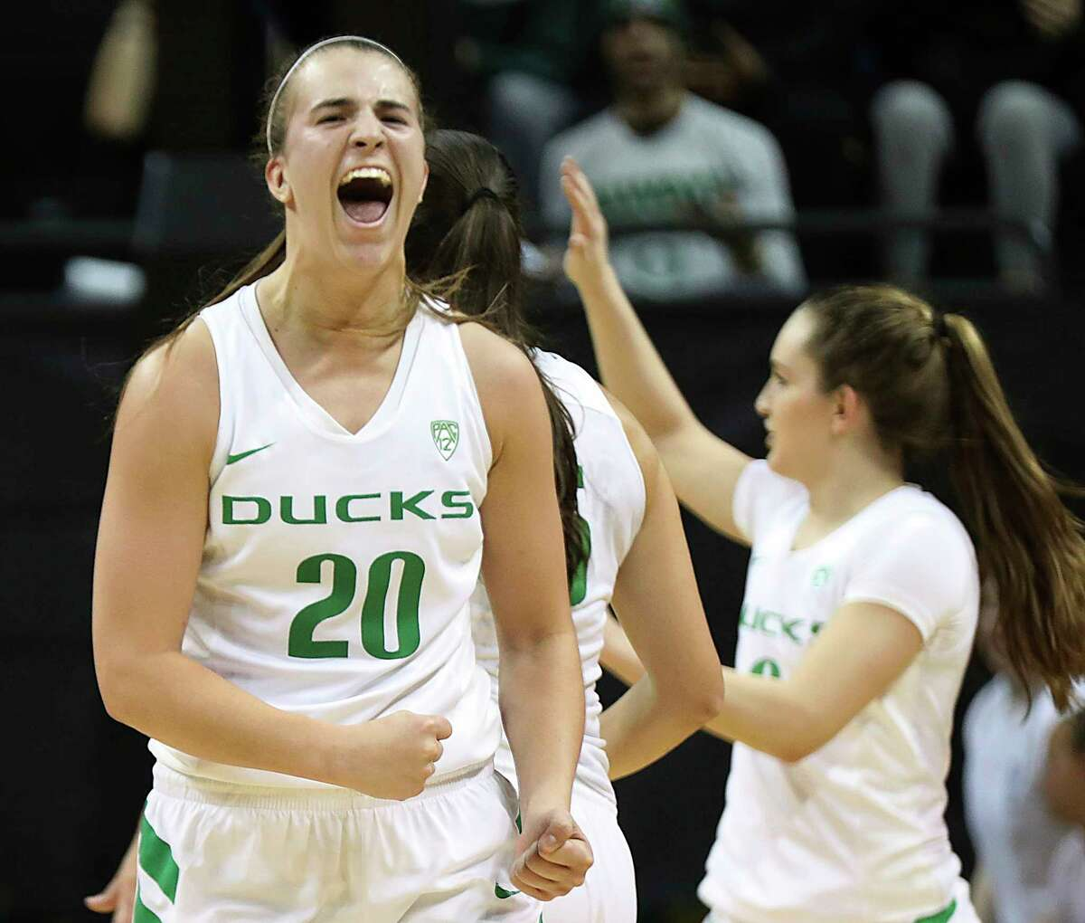 Sabrina Ionescu, G, Oregon By now, Sabrina Ionescu's status as the NCAA's all-time triple-double leader (with 18) is well known. Simply put, the junior guard is a generational talent. This year, she's averaging 19.9 PPG, 8.2 APG and 7.5 RPG - a stellar, all-around stat line. Equally impressive is her efficiency: Ionescu shoots the ball at a 45 percent clip, and 43.3 percent from beyond the arc. She also has the toughness and grit to match her skills. As the best true floor general in the country, Ionescu could very well be the first player picked should she choose to enter the draft.