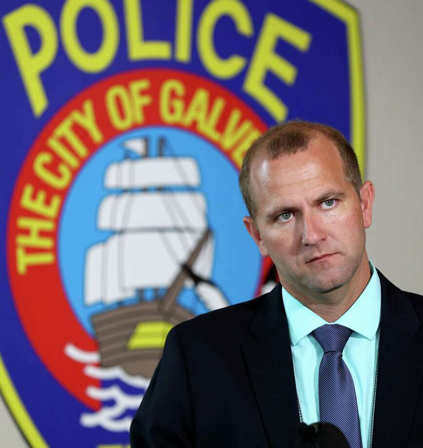 Galveston Police Detective Jeff Banks answers questions on June 20, 2018, about the identification of the 4-year-old boy known as 'Little Jacob' whose body was found on a Galveston beach the previous fall. Police and city officials have reached an agreement on a pension plan. Photo: Jennifer Reynolds, MBR / The Galveston County Daily News / © 2018 Jennifer Reynolds/The Galveston County Daily News