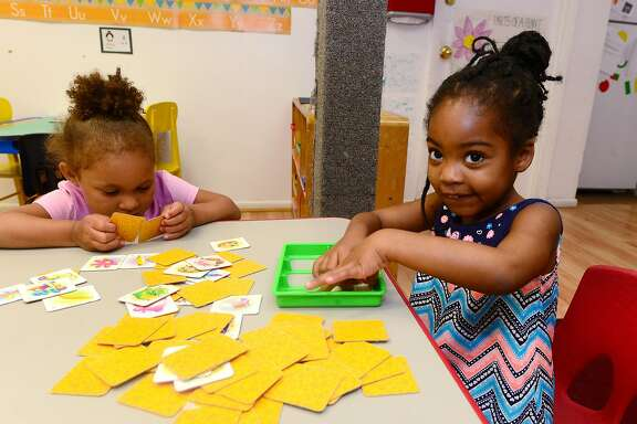 Thursday, July 7, 2016, at the School Readiness preschool for low income families, Children's Playhouse, on Bouton St. in Norwalk, Conn.In the new state budget, 7,200 children in CT will lose access to Care 4 Kids, which subsidizes low-income families for childcare services.