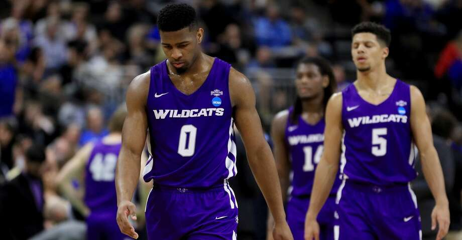 JACKSONVILLE, FLORIDA - MARCH 21:  Jaylen Franklin #0 of the Abilene Christian Wildcats walks across the court in the second half against the Kentucky Wildcats during the first round of the 2019 NCAA Men's Basketball Tournament at Jacksonville Veterans Memorial Arena on March 21, 2019 in Jacksonville, Florida. (Photo by Mike Ehrmann/Getty Images) Photo: Mike Ehrmann/Getty Images