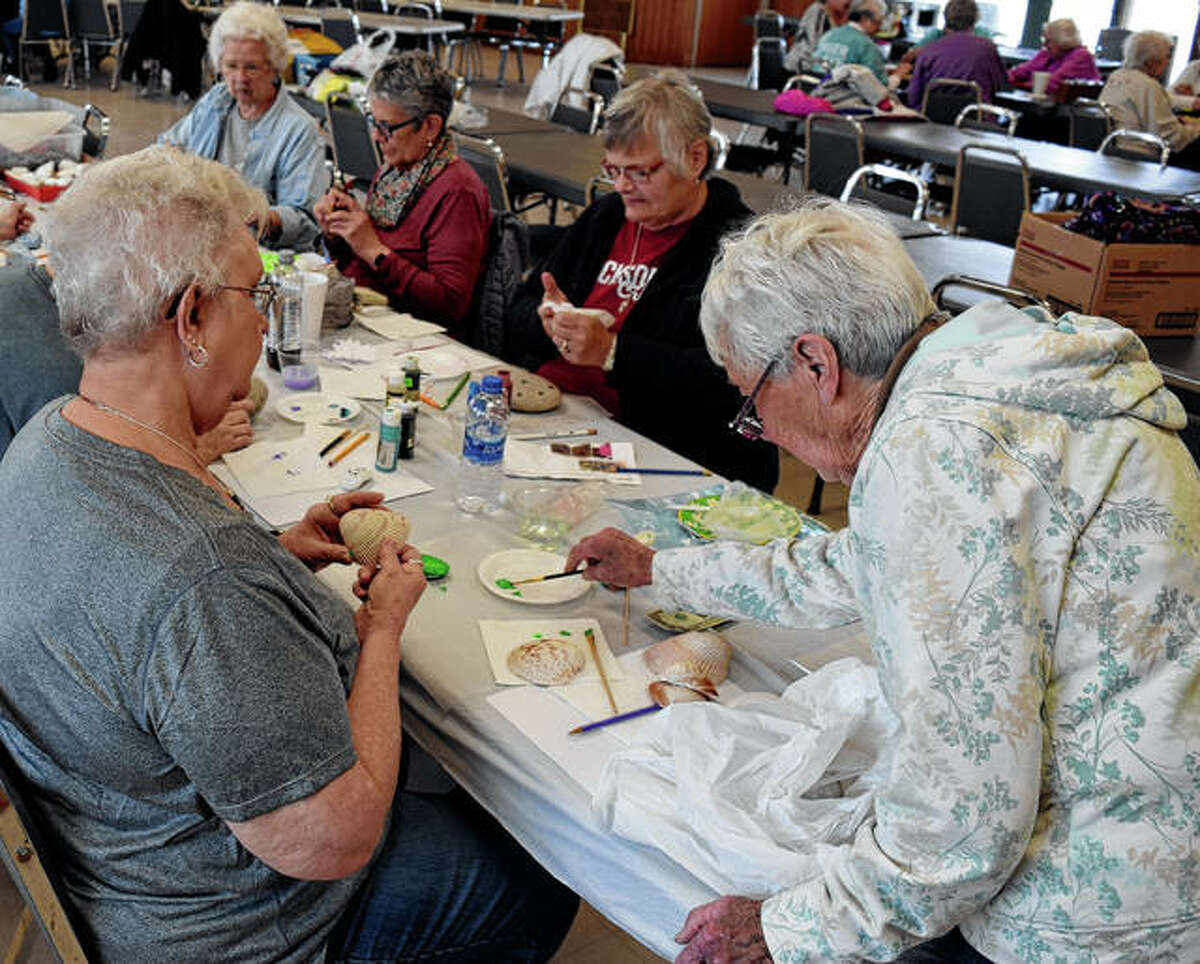 Senior Center craft classes are at 1 p.m. the third Thursday of each month at the Community Park Center. Each session focuses on a different craft.