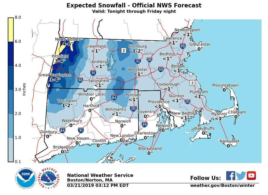 Varied forecasts for CT: Coastal flooding, rain, snow