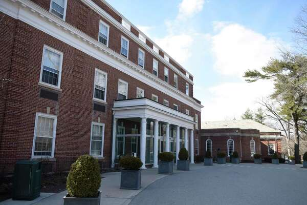 The Nathaniel Witherell short-stay rehabilitation and nursing home in Greenwich, Conn. Tuesday, March 19, 2019. The Town of Greenwich is considering potential options for operating the Nathaniel Witherell.