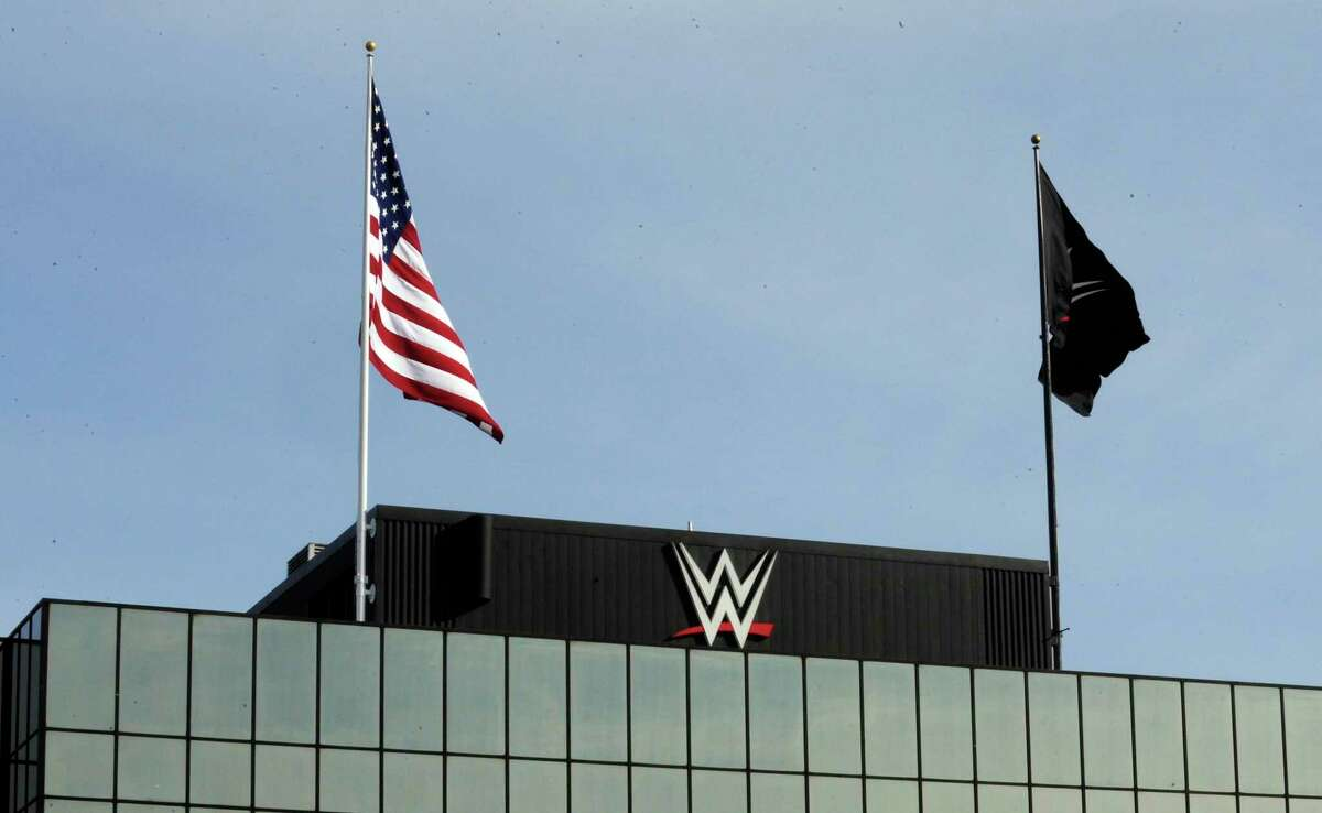 WWE is headquartered at 1241 E. Main St., in Stamford, Conn.