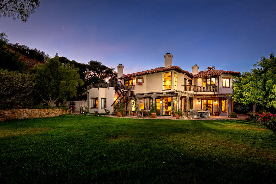 Actor Ricky Schroder sold his longtime Topanga ranch in an off-market deal for $9.3 million. The roughly 30-acre estate features both main and guest houses, organic gardens, trails and a riding ring. (Juwan Li Photography/TNS) Photo: Juwan Li Photography / Los Angeles Times