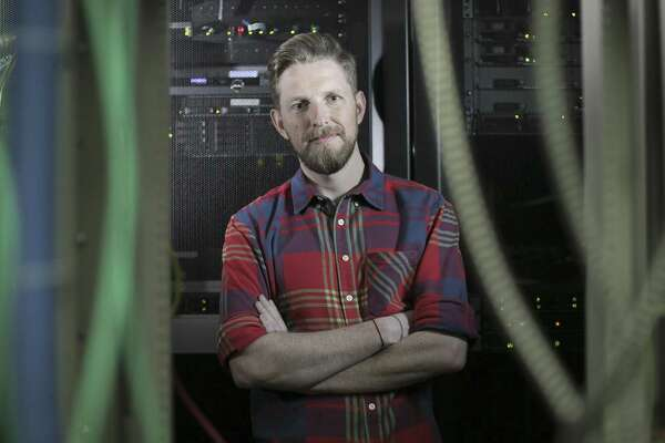 WordPress co-creator and CEO Matt Mullenweg talks to the Houston Chronicle on Thursday, March 14, 2019 in Houston.