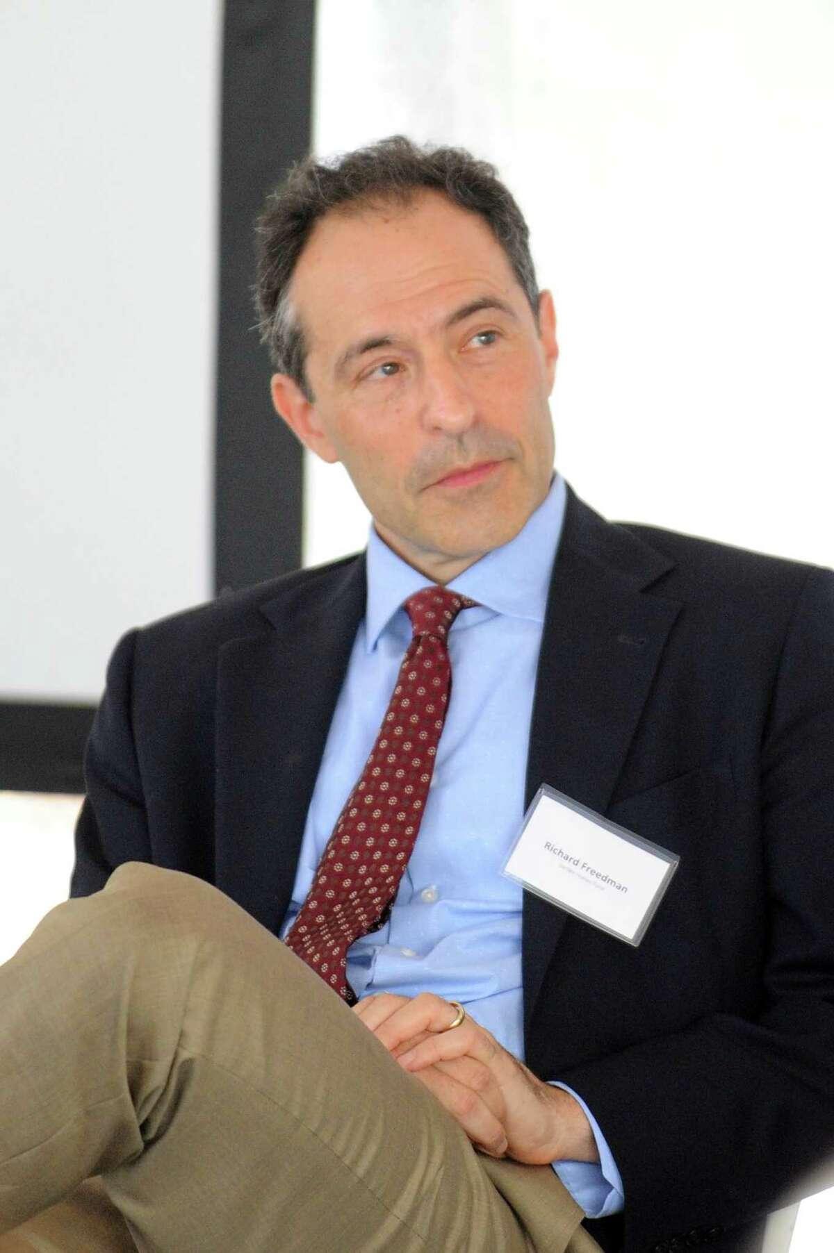 Board of Finance Chairman Richard Freedman
