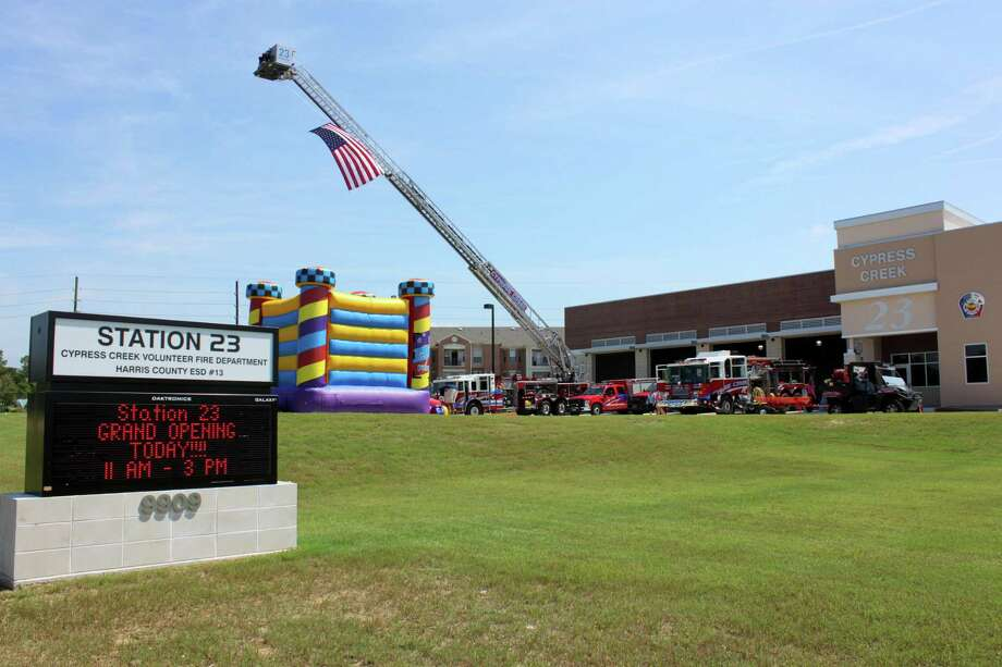 Cypress Creek Fire Department opened Station 23 in 2017. Photo: Mary Bailey / The Mirror / The Mirror